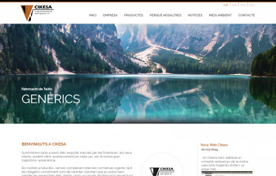 New Website Cikesa